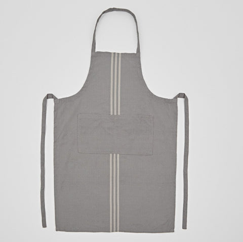 Weaver Green | Maxime Grey and Linen Apron