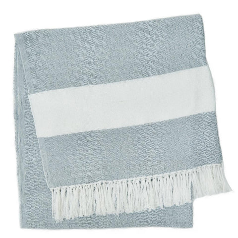 Weaver Green | Cornflower Hammam Throw