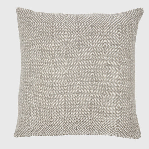 Weaver Green | Lightweight Diamond Chinchilla Cushion