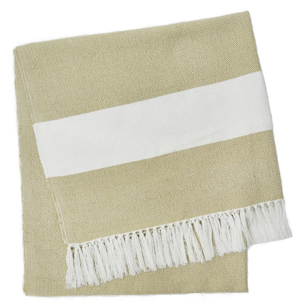 Weaver Green | Gooseberry Hammam Throw