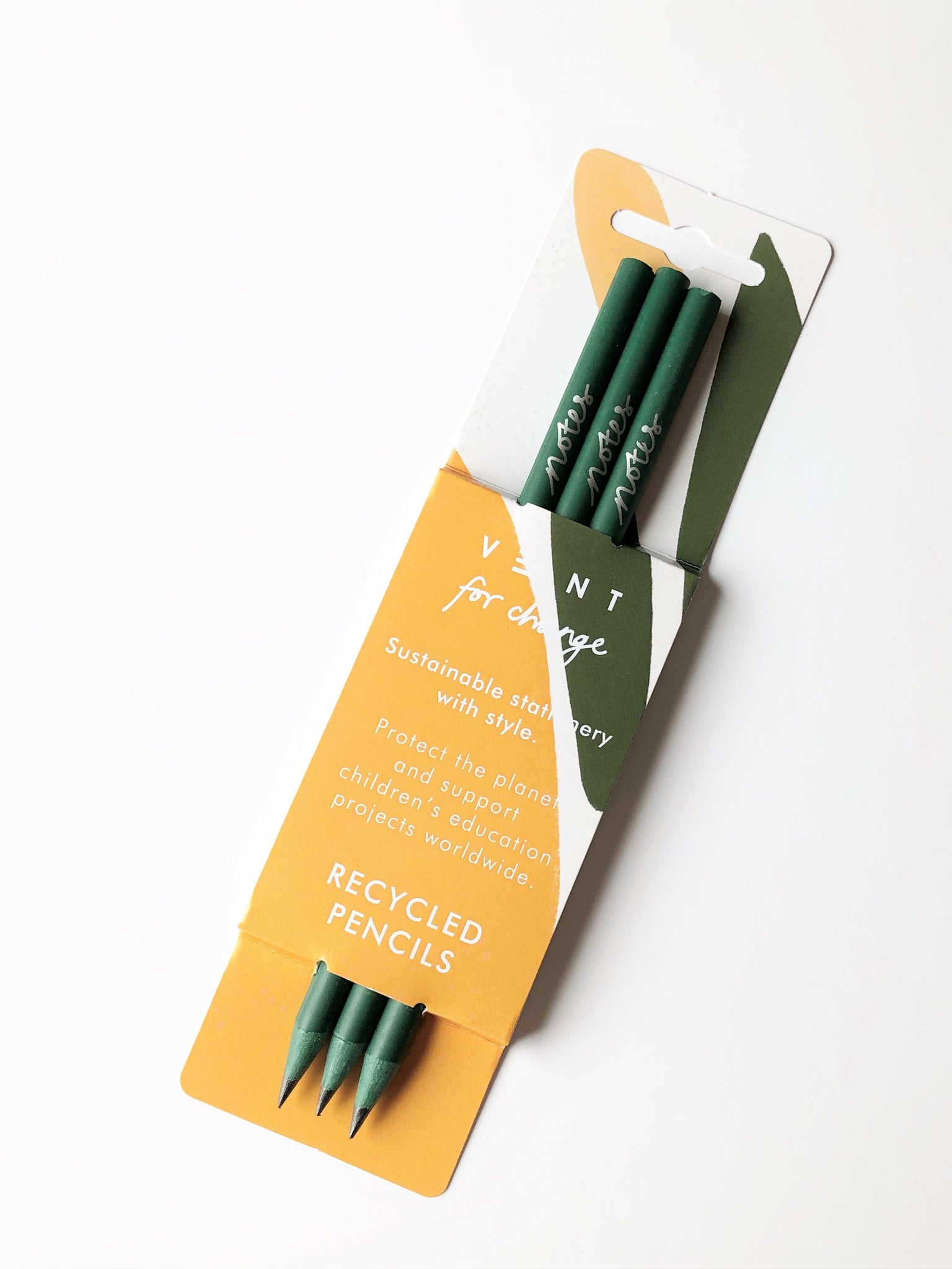 Recycled Pencils - Forest Green