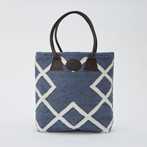 Weaver Green | Juno Navy Bag