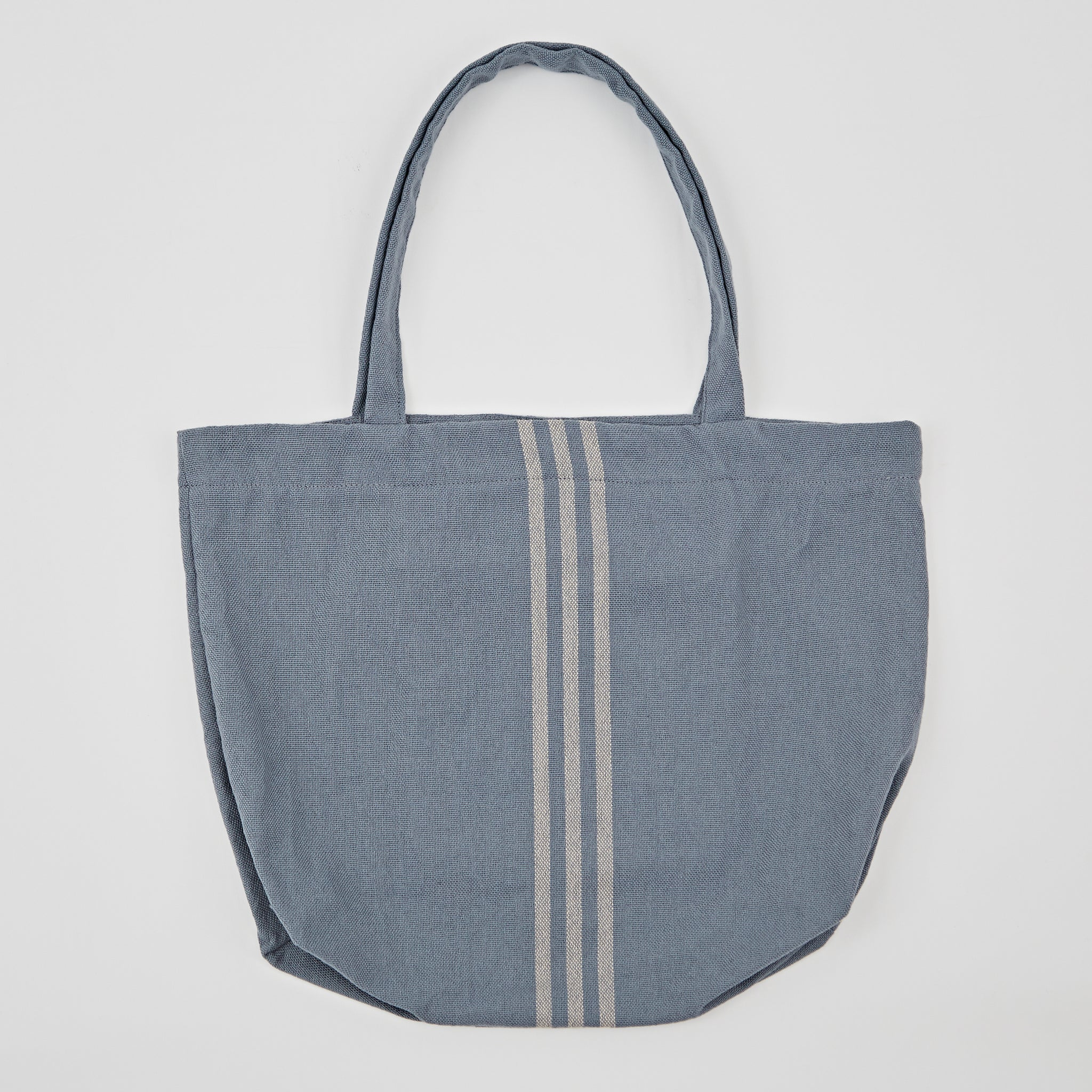 Weaver Green | Blue & Linen Beach Bag