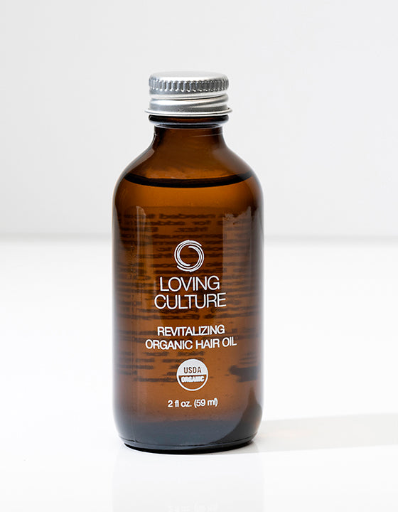 LOVING CULTURE REVITALISING ORGANIC HAIR OIL