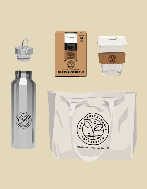 SUSTAINABLE TRAVEL GIFT SET