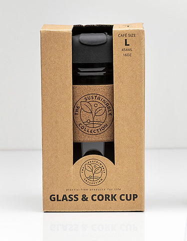 SC GLASS & CORK CUP