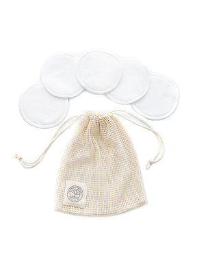 REUSABLE MAKE UP REMOVER PADS - SET OF 5
