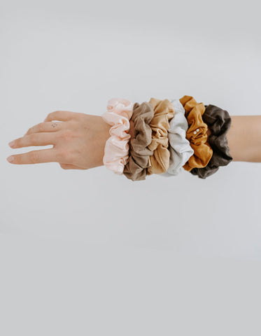 BIODEGRADABLE SCRUNCHIES