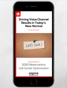 Driving Voice Channel Results in Today's New Normal