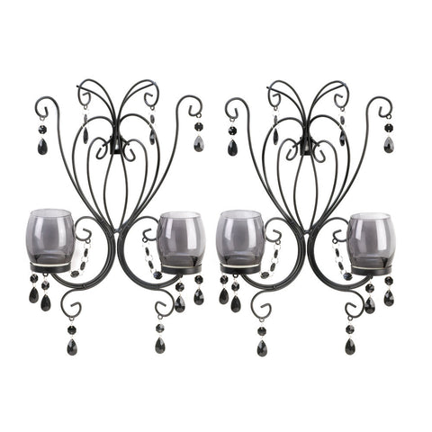 Black Elegant Wall Sconces
