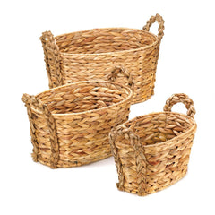 Country Woven Nesting Baskets