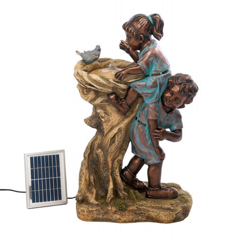 Cool Drink Children Solar Fountain
