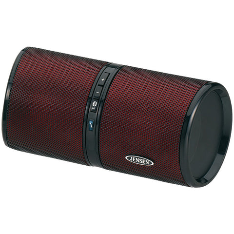 Jensen Bluetooth Wireless Rechargeable Stereo Speaker (red)