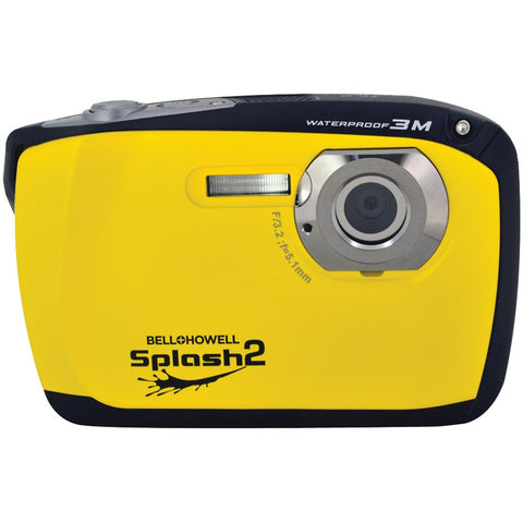 Bell+howell 16.0 Megapixel Wp16 Splash2 Hd Underwater Digital Camera (yellow)