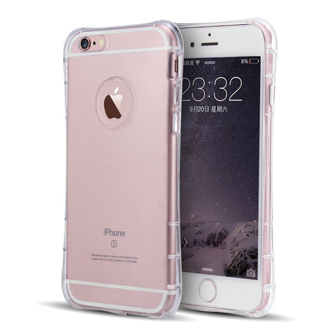"For iPhone 6 Plus 5.5 inch Cell Phone Cases For iPhone 6 4.7"" Highend Berry Original Soft TPU Clear Case with Protective Caps"