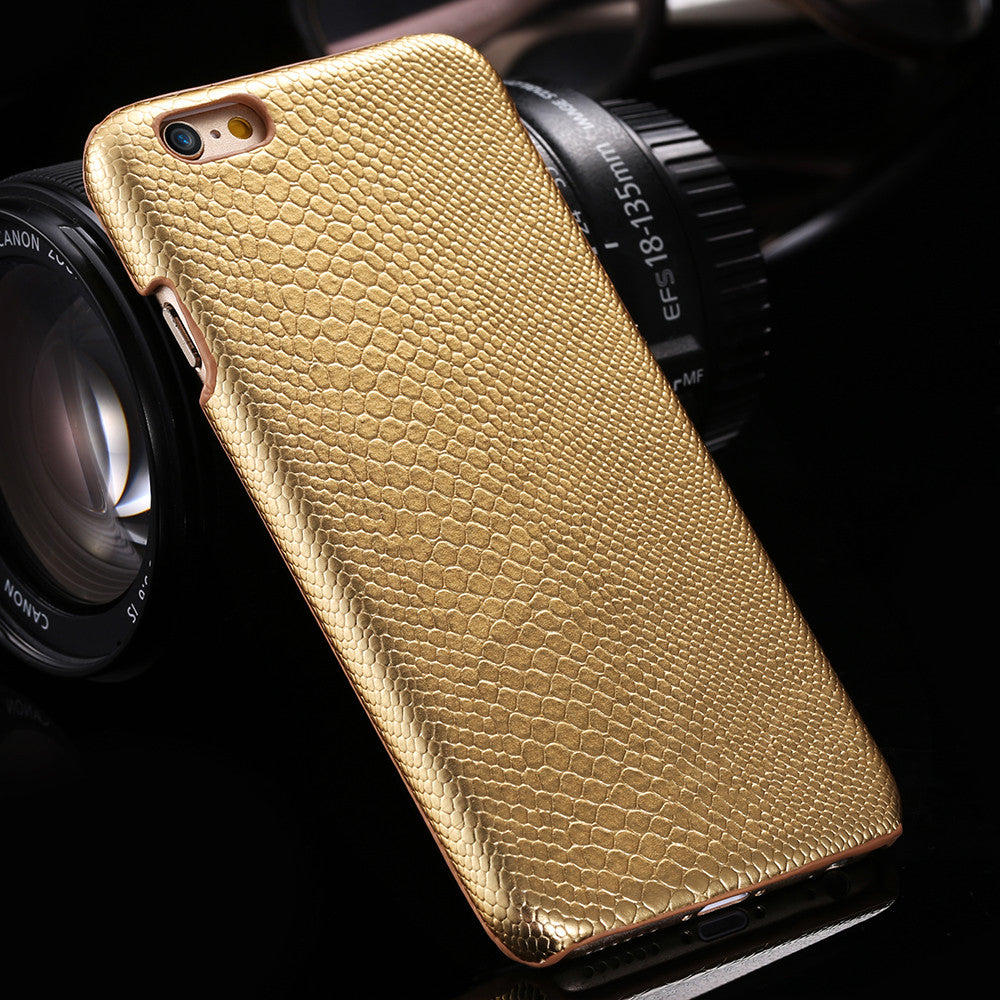 For Apple iPhone 6 6s Cases Gold Luxury Hard Plastic Cell Phone Case For iPhone 6Plus/ 6s Plus