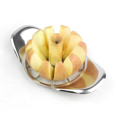 2016 New Stainless Steel Apple Slicer Divider Corer Pear Cutter Fruit Vegetable Tools Easy Cutting Apples Kitchen Accessories