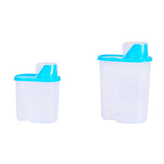 2 Size Kitchen Tools Sealed Cans Tank Plastic Food Storage Box Grain Container Kitchen Fresh Accessories Organizador