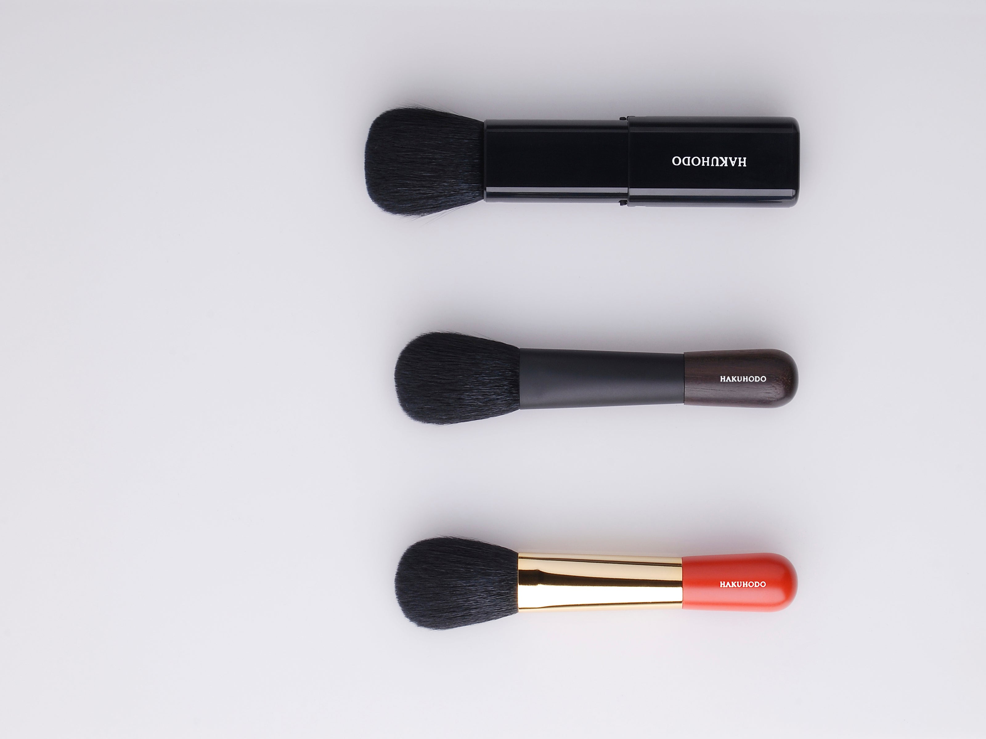 Retractable and Compact Brushes For