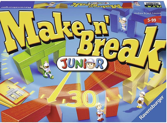 Juego De Mesa Ravensburger Cálmate Junior (Make `N` Break).