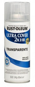 Barniz Transparente Satinado 430ml. Rust Oleum Ultra Cover