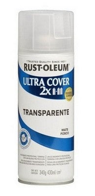 Barniz Transparente Mate 430ml. Rust Oleum Ultra Cover