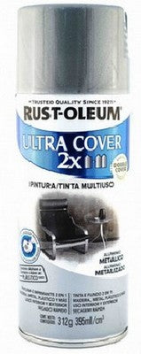 Pintura Aluminio Metalico 395ml. Rust Oleum Ultra Cover