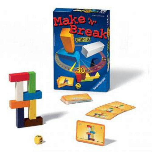 Juego De Mesa Ravensburger Cálmate Compact (Make `N` Break).