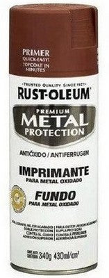 Primer Antioxido Rojo 430ml. Rust Oleum Metal Protection