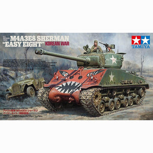 Tanque M4A3E8 Sherman Easy Eight Korean War Escala 1/35. Modelos a Escala Tamiya