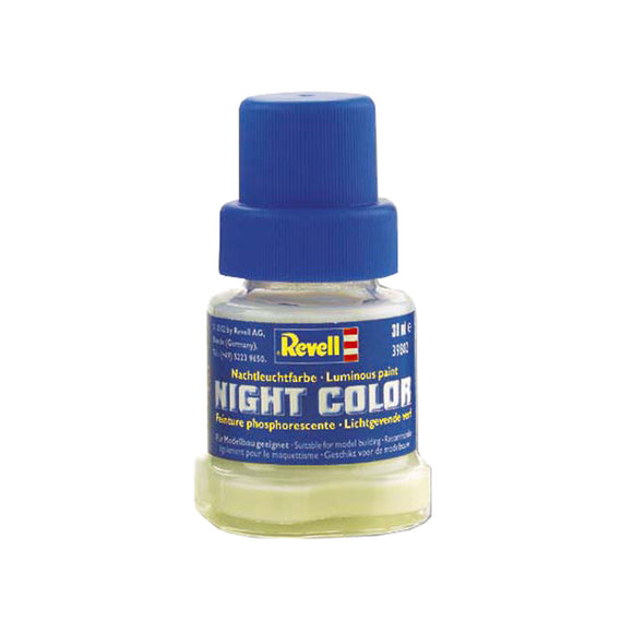 Night Color Revell 39802, pintura luminosa fosforescente 30ml.
