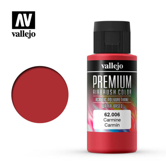 62006 Carmin (Carmine) 60ml. Premium Airbrush Color