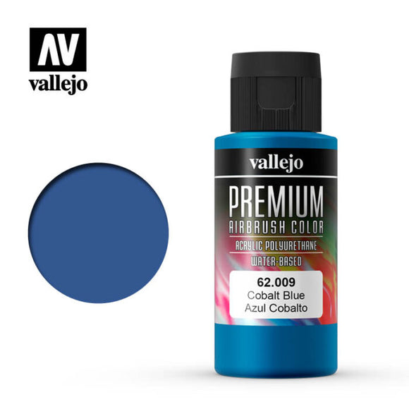 62009 Azul Cobalto (Cobalt Blue) 60ml. Premium Airbrush Color