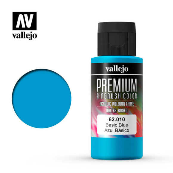 62010 Azul Basico (Basic Blue) 60ml. Premium Airbrush Color