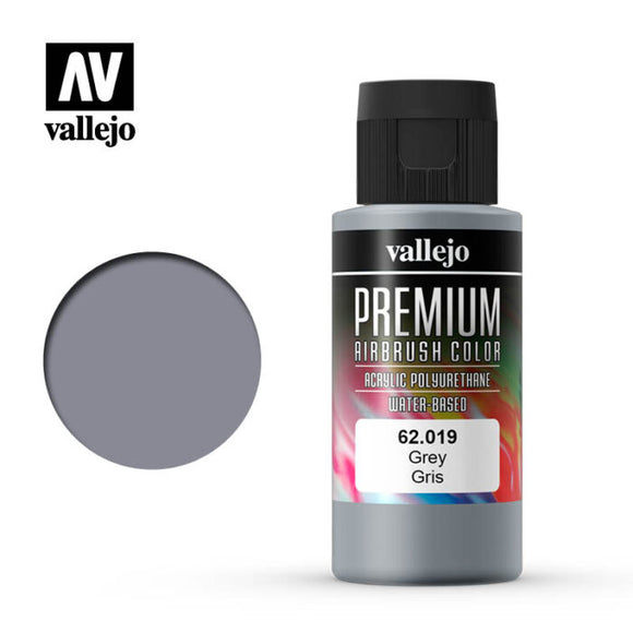 62019 Gris (Gray) 60ml. Premium Airbrush Color