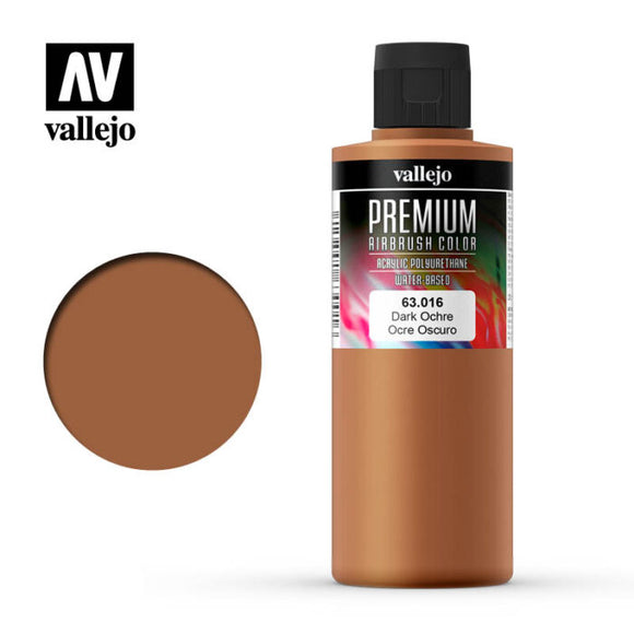 63016 Ocre Oscuro (Dark Ochre) 200ml. Premium Airbrush Color