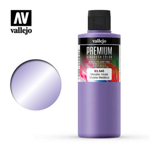 63045 Violeta Metálico (Metallic Violet) 200ml. Premium Airbrush Color