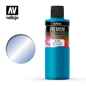 63046 Azul Metálico (Metallic Blue) 200ml. Premium Airbrush Color