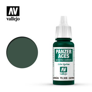 70308 Piloto Verde Alemán (German Green Tail Light) 17ml. Panzer Aces