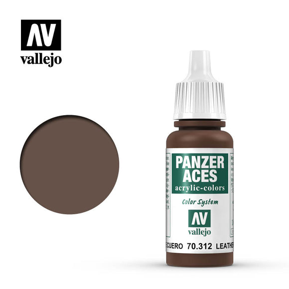 70312 Correa de Cuero (Leather Belt) 17ml.  Panzer Aces