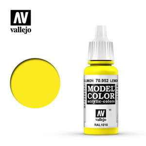 70952 Amarillo Limón (Lemon Yellow) 17ml. Model Color