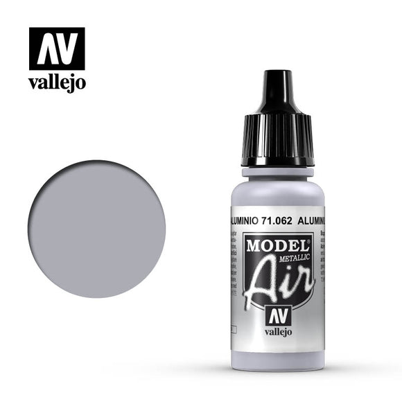 71062 Aluminio Metalizado (Aluminum) 17ml. Model Air