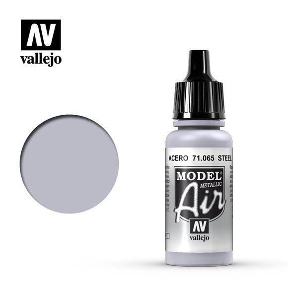 71065 Acero Metalizado (Steel Metallic) 17ml. Model Air