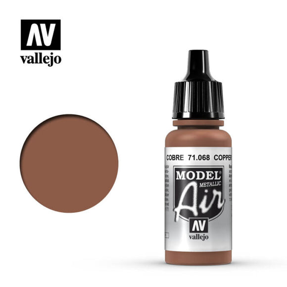 71068 Cobre Metalizado (Copper Metallic) 17ml. Model Air