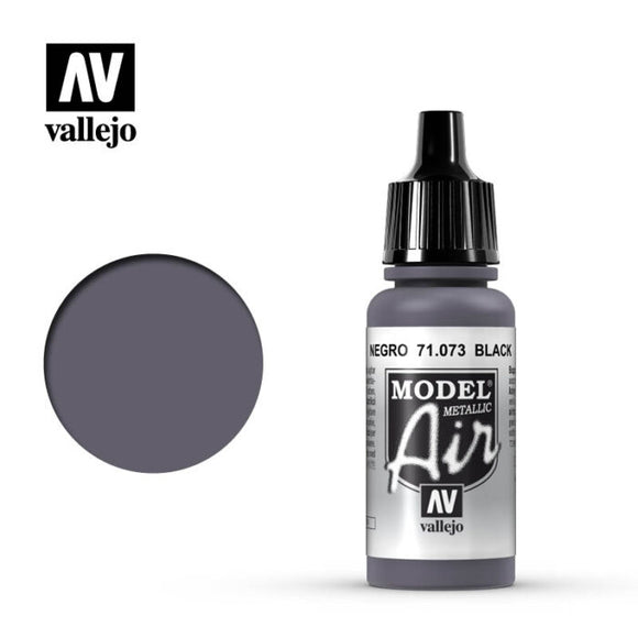 71073 Fusil Metalizado (Gunmetal Metallic) 17ml. Model Air
