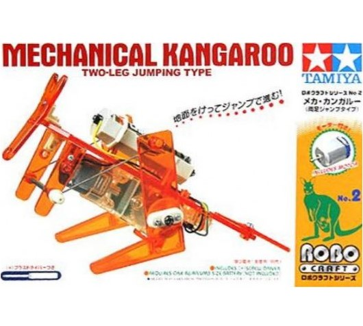 Copia de Modelo Mechanical Kangaroo. Serie Robotica Elemental Tamiya