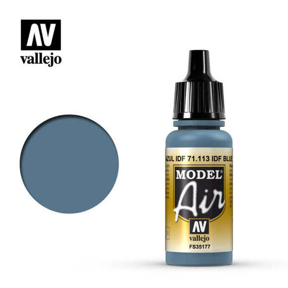 71113 Azul IDF (IDF Blue) 17ml. Model Air
