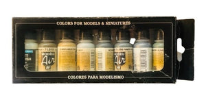 71150 Estuche de 8 Pinturas Demag D-7 Africa Corps. Model Air Set