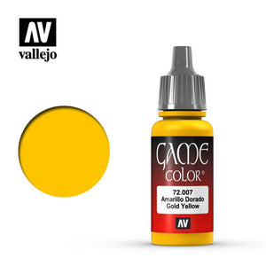 72007 Amarillo Dorado (Gold Yellow) 17ml. Game Color
