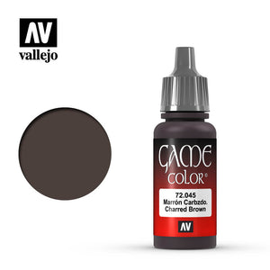 72045 Marrón Carbonizado (Charred Brown) 17ml. Game Color